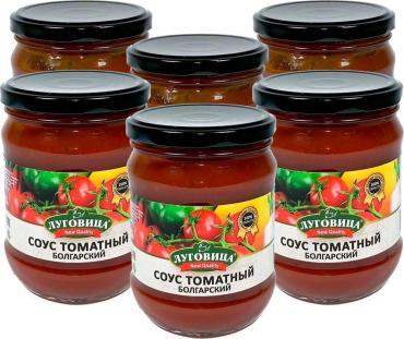 Соус томатный Болгарский , Луговица, 460 гр, стекло