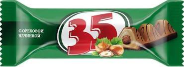 Конфеты с ореховой начинкой 35, 20 гр., флоу-пак