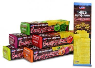 Чипсы картофельные с паприкой Белорусские, Мира, 200 гр., картонная коробка