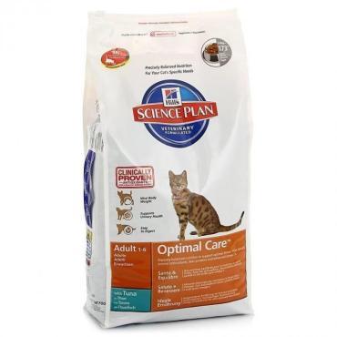 Корм для взрослых кошек с тунцом Hill's, 2 кг., дой-пак