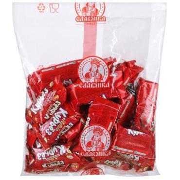 Конфеты Славянка Курьез хрустящее шоколадное лакомство