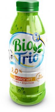 Биойогурт Bio Trio 4 Злака + Фруктоза Без сахара 1%