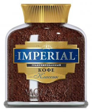 Кофе растворимый гранулированный Imperial Классик, 100 гр., стекло