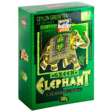 Чай зеленый Battler Зелёный слон
