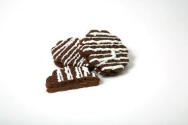 Печенье шоколадное с фруктовой начинкой Де-жавю