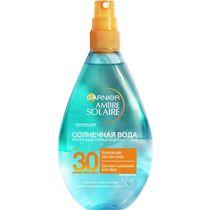 Спрей солнцезащитный Garnier Ambre Solaire Солнечная вода с Алоэ Вера SPF 30