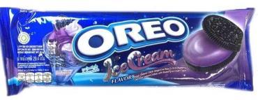 Печенье Oreo Ice Cream Bluberry