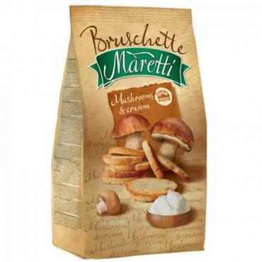 Сухарики Maritti со вкусом Грибы со сметаной
