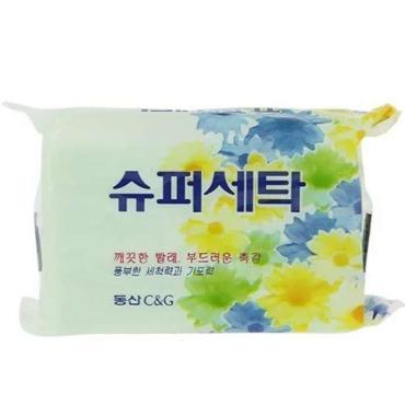 Мыло хозяйственное CLIO Super Laundry Soap Корея 4 шт.