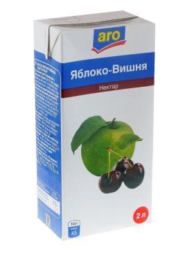 Нектар Aro Яблоко-вишня