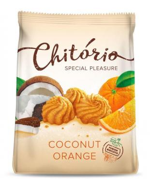 Печенье Chitorio Coconut Orange