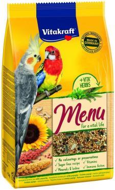 Корм для средних попугаев Vitakraft Menu