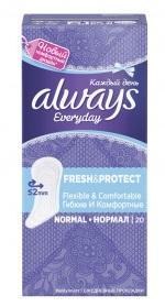 Гигиенические прокладки Always на каждый день Everyday Normal 20шт