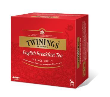 Чай Twinings English Breakfast Tea пакетированный