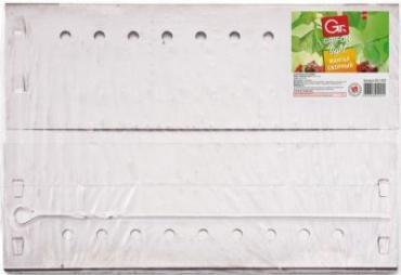 Мангал сборный 35×24×30 см., шампуры 40 см., Grifon, 1,140 кг., полиэтиленовая пленка