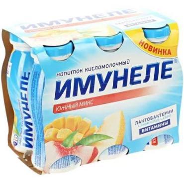 Кисломолочный напиток Имунеле Южный микс 1,2%