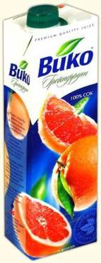 Сок Вико грейпфрутовый