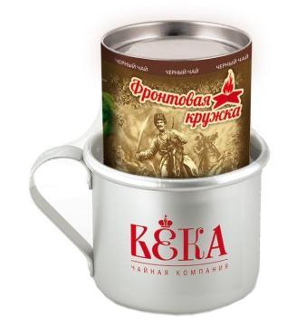 Чай Краснодарский Фронтовой с кружкой черный листовой
