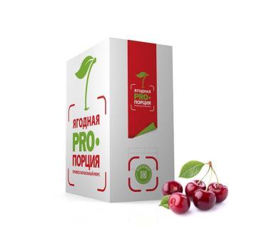 Морс Ягодная PRO Порция вишневый с минимальной объемной долей сока 60%