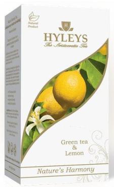 Чай Hyleys Гармония природы зеленый с лимонным маслом 37.5 гр