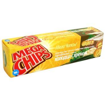Чипсы Mega Chips холодец с хреном