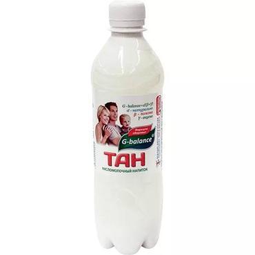 Тан Газированный 1%, G-balance, 500 мл., пластиковая бутылка