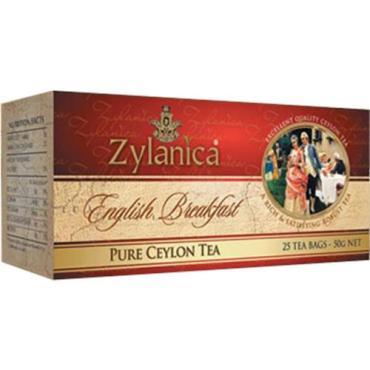 Чай Zylanica Английский завтрак черный в пакетиках