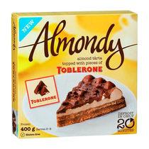 Торт Almondy Toblerone миндальный Дайм 400 гр.