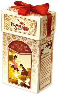 Чай Plum Snow Золотая улитка бергамот-лимон