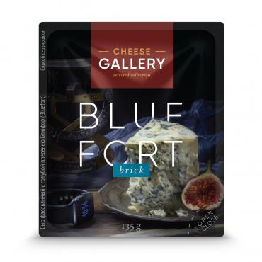 Сыр Cheese Gallery Bluefort с голубой плесенью 56%