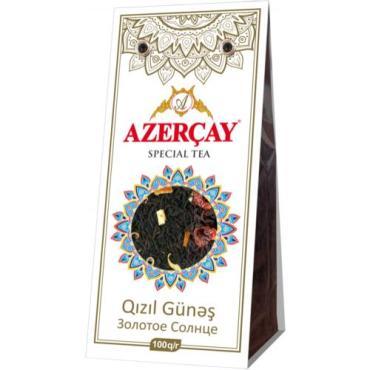 Чай черный Azercay tea Золотое Солнце