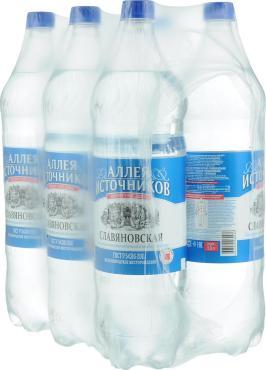 Минеральная вода Славяновская ТЭСТИ