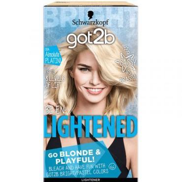 Краска для волос 00А Кристальный платиновый, Got2b Lightened, 122,5 мл., Картонная коробка