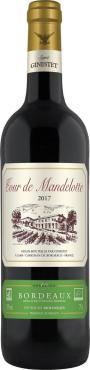 Вино красное сухое Tour de Mandelotte Bordeaux AOC Rouge, 750 мл., стекло