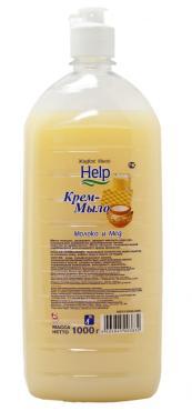 Мыло жидкое Help Молоко и мед