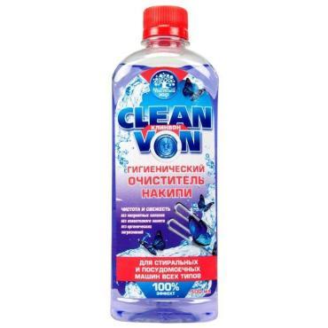 Гигиенический очиститель накипи Чистый мир Clean Von Для стиральных и ПММ