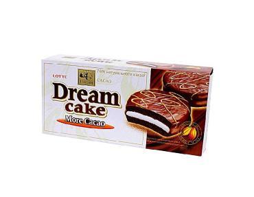 Бисквит Dream Cake крем Lotte 360 гр., Картонная коробка