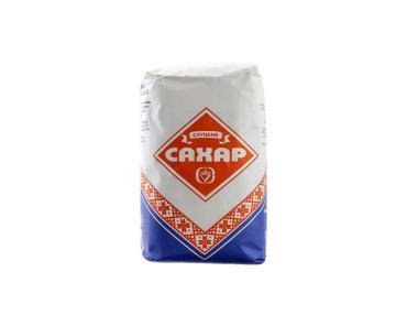 Сахар белый кристаллический Слуцкий 1 кг., Бумажная упаковка