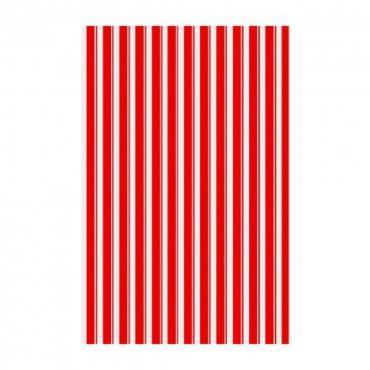 Полотенце Мультидом Полоски 42х72см. красный МТ71-120
