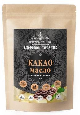 Какао масло Продукты XXII века нерафинированное