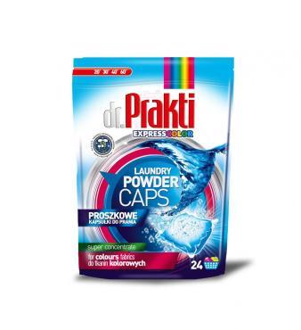 Капсулы для стирки Dr. Prakti Color порошковые 24 шт