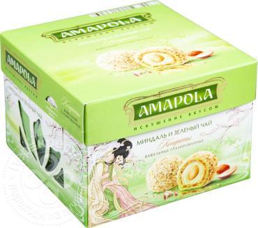 Конфеты Amapola Миндаль и зеленый чай