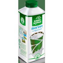 Питьевой йогурт Край Курая натуральный 1,5% 750 г