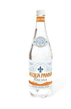 Вода минеральная Acqua Panna негазированная 1 л.