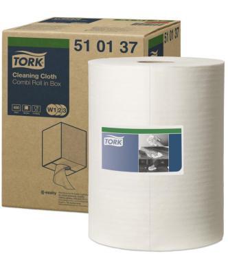 Нетканый материал в малом рулоне Tork, 2.7 кг., картонная коробка