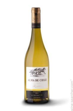 Вино Alma De Chile Совиньон блан шардоне Белое полусладкое 12,5%