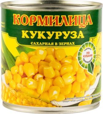Кукуруза Кормилица консервированная