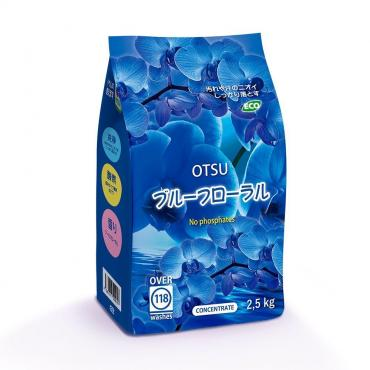 Концентрированный стиральный порошок Otsu, с ароматом Цветочный сад