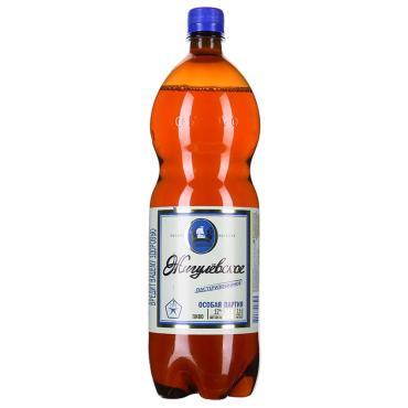 Пиво светлое Жигулёвское Особая Партия непастеризованное 4,6% 1.5 л