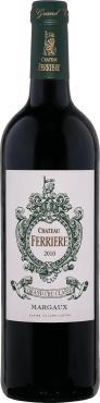 Вино 13,5 % 2013 года выдержанное красное сухое Chateau Ferriere Margaux, Франция, 750 мл., стекло